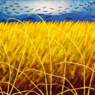 Homage To Van Gogh - Acrylic on deep edge canvas - 32
