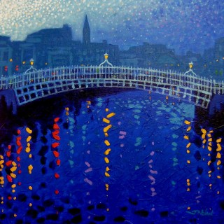 Ha Penny Bridge - Starry Night In Dublin Series - SOLD OUT