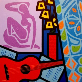 SOLD OUT Homage To Matisse II SOLD OUT