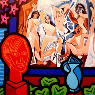 Homage To Picasso  SOLD OUT