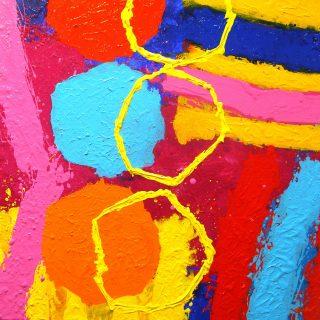 Jazz Process 3 - Acrylic on deep edge canvas  20