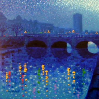 O Connell Bridge -  Starry Night In Dublin Series SOLD OUT
