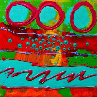 Totem I - Acrylic 10
