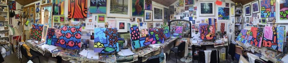 John Nolan Studio interior
