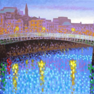 Ha'Penny Bridge - High quality Giclee print 19