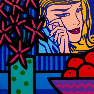 SOLD OUT Homage To Lichtenstein - High quality Giclee print 21