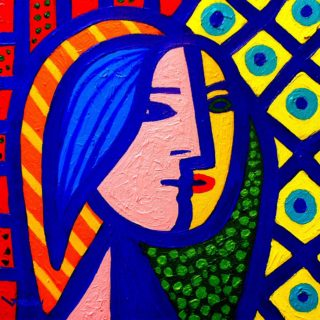 SOLD OUT Homage To Picasso - High quality Giclee print 19