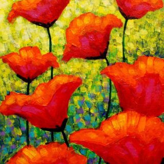 SOLD OUT Mischa's Poppies - High quality Giclee print 17