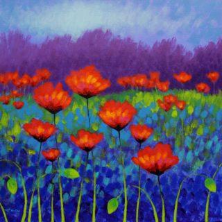 Poppy Meadow - High quality Giclee print 19