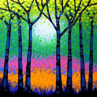 SOLD OUT Seven Trees - High Quality Giclee print 20
