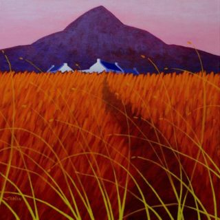 The Sugar Loaf County Wicklow -  Acrylic on deep edge canvas - 20