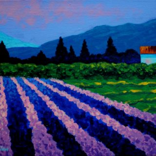 Provence Acrylic On Stretched Canvas 11 X 14 Inches SOLD