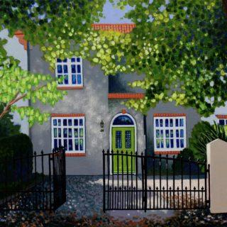 House portrait Commission 6 10 2020 004