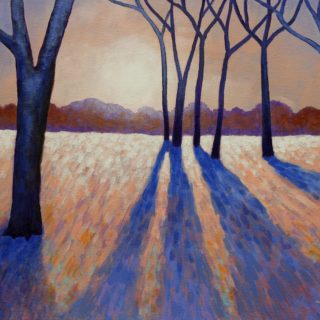 Winterwood 12 11 2020 017 - Acrylic on stretched canvas - 20